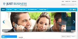 Joomla 25 business template wajeb Image collections