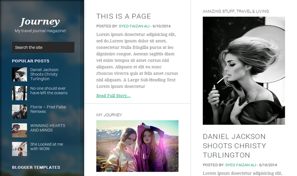 best template for blogger