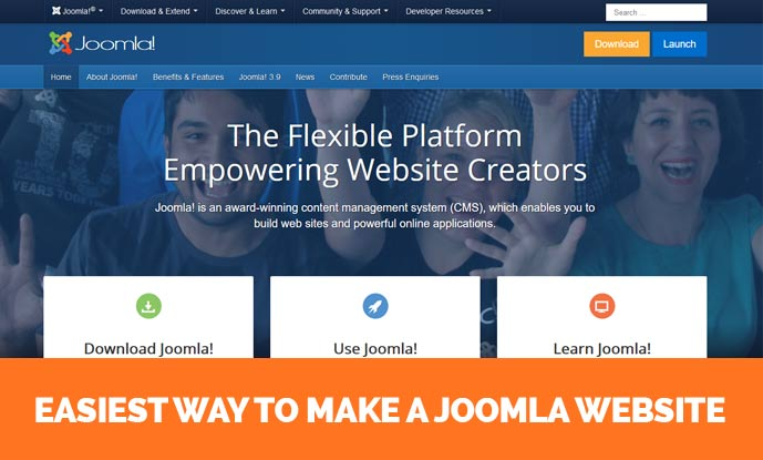 Free Joomla 3 9 Templates - How to Make Website Using Joomla